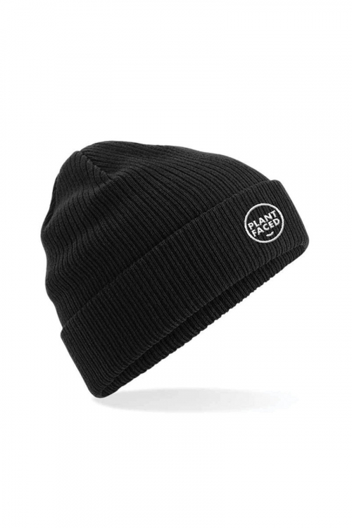 Embroidered Organic Cotton Beanie
