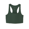 Paloma Bra in Moss flat front view